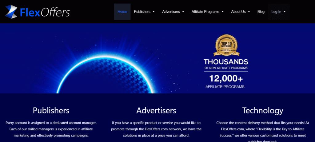 FlexOffers Affiliate Marketing Programs