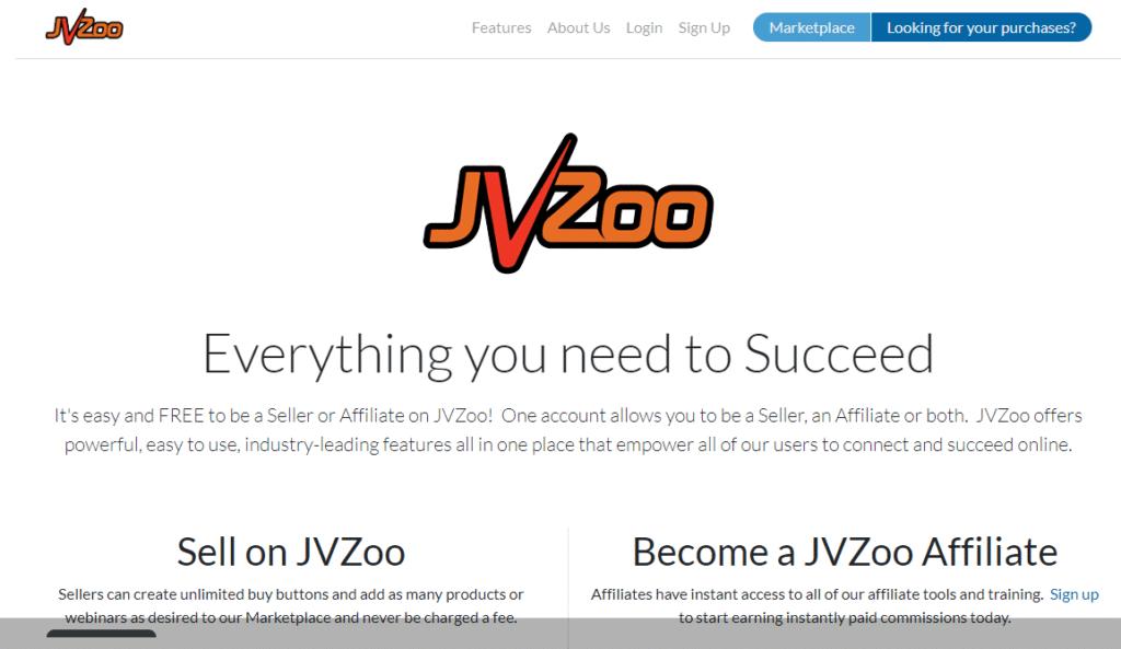 JVZoo Affiliate Marketing Program