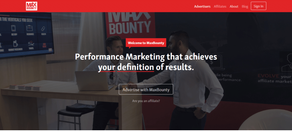 MaxBounty Affiliate Marketing Program