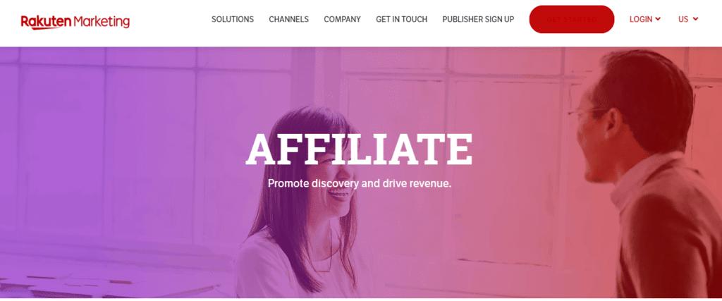 Rakuten Affiliate Marketing Program